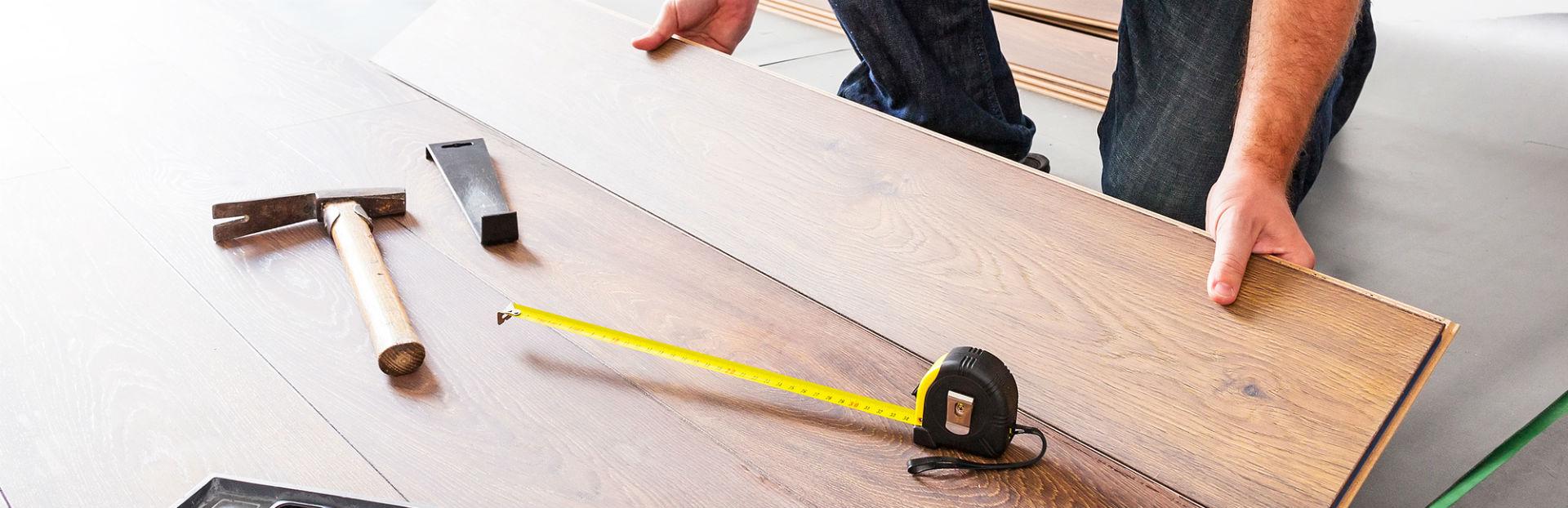 Как положить ламинат на бетонный пол - НашПол 55