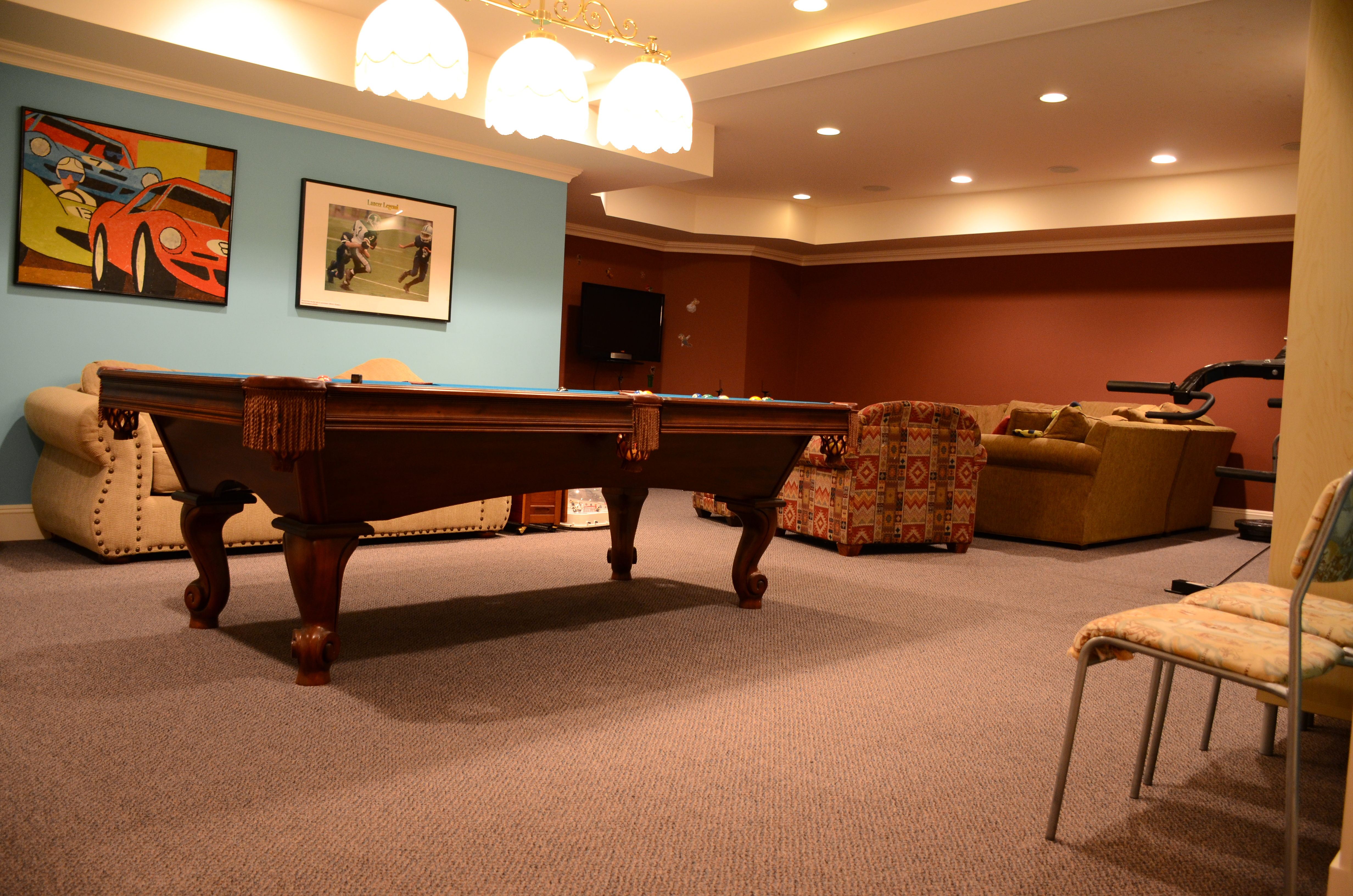 game-room-re-carpeted-following-flood