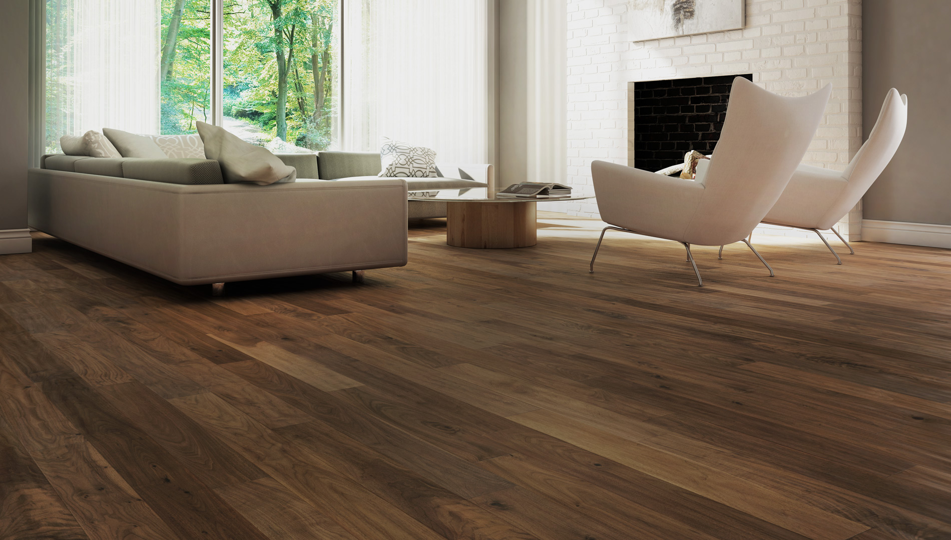 Walnut hardwood flooring floor town for Walnut hardwood flooring