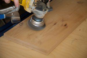 wire brush flooring