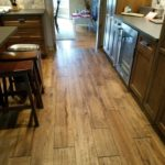 Hillsdale - Newly installed solid hardwood (nail down) in kin kitchen area