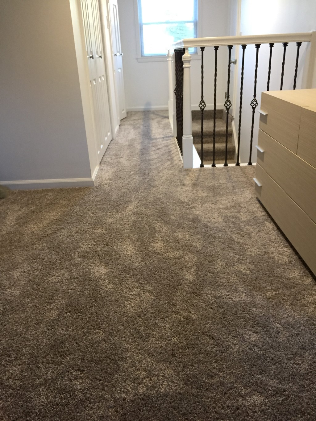 Master Bedroom Softer Earth Tone Carpet With Higher